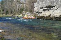 Descente en Raft Avril 2015